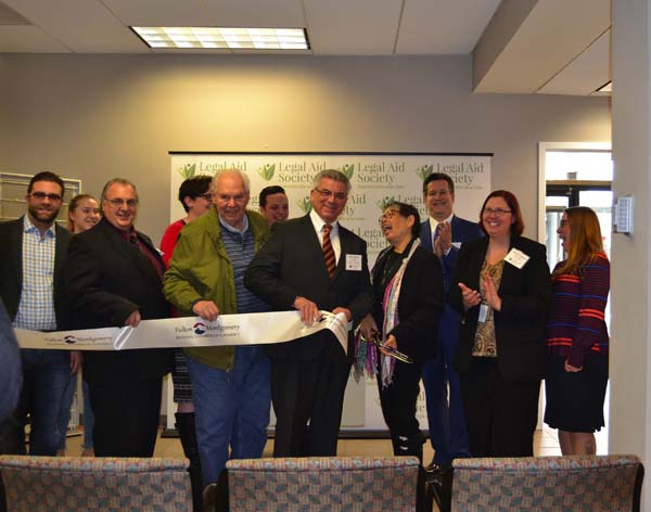 Legal Aid Society of Northeastern N.Y. celebrates the opening of new location