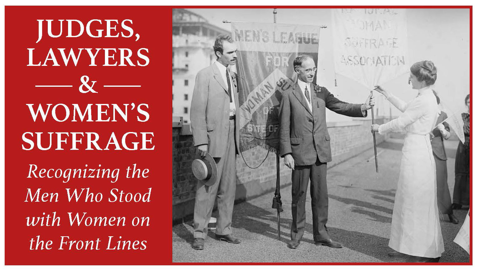 Judges, Lawyers and Women's Suffrage