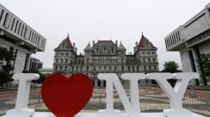 I Love NY at the Empire State Plaza, Albany, NY