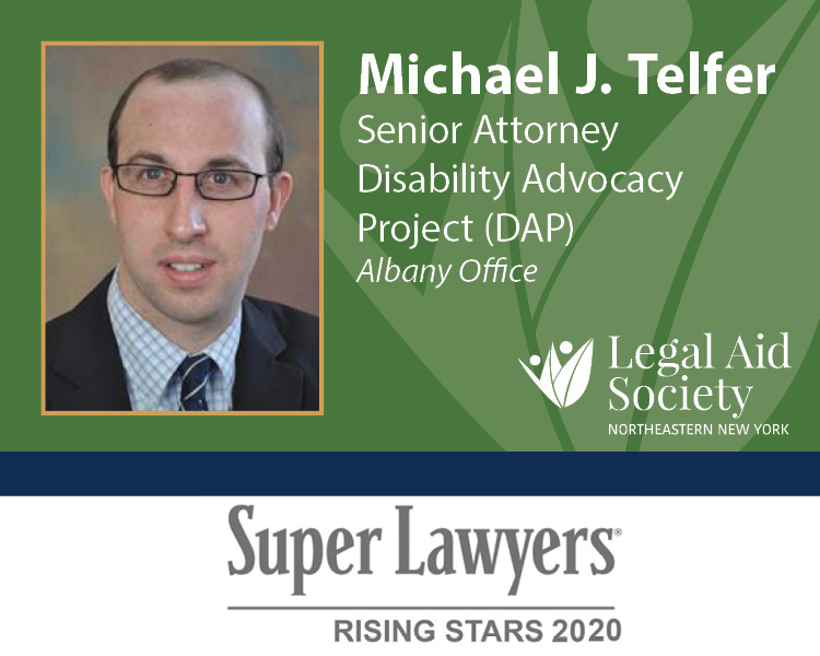 Telfer Super Lawyers Rising Star