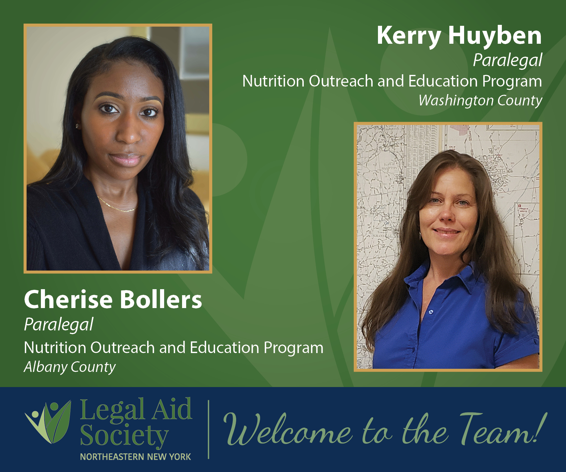 LASNNY Welcomes NOEP Coordinators Cherise Bollers and Kerry Huyben