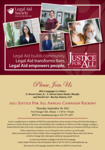 2021 Justice For All Kickoff
